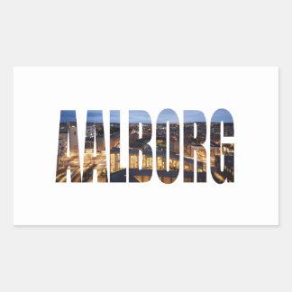 Adesivo Retangular Alborgue