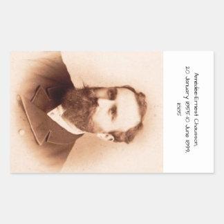 Adesivo Retangular Amedee-Ernest Chausson