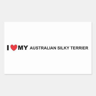 Adesivo Retangular amor de seda australiano