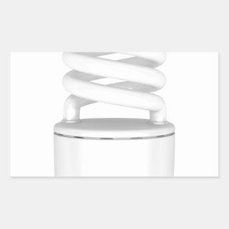 Adesivo Retangular Ampola fluorescente
