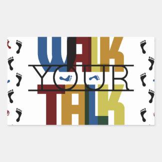 Adesivo Retangular Anda sua conversa #1