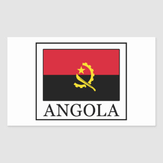 Adesivo Retangular Angola