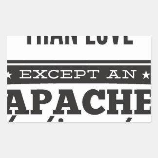 Adesivo Retangular Apache