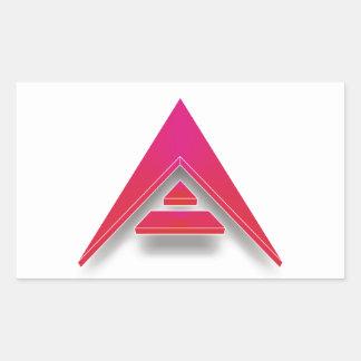 Adesivo Retangular ARCA em 3D