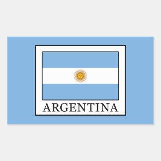 Adesivo Retangular Argentina