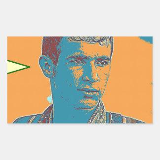 Adesivo Retangular Arte curdo 2 do lutador de YPG