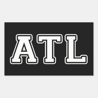 Adesivo Retangular Atlanta Geórgia