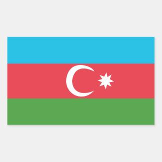 Adesivo Retangular Azerbaijao