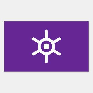 Adesivo Retangular Bandeira da prefeitura de Tokyo, Japão