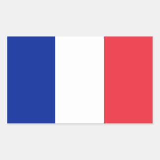 Adesivo Retangular Bandeira de France