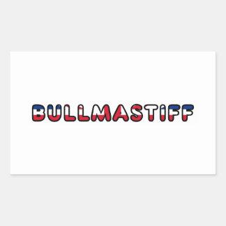 Adesivo Retangular bandeira de Inglaterra United_Kingdom do bullma em