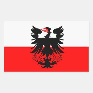 Adesivo Retangular Bandeira QUATRO de Deventer