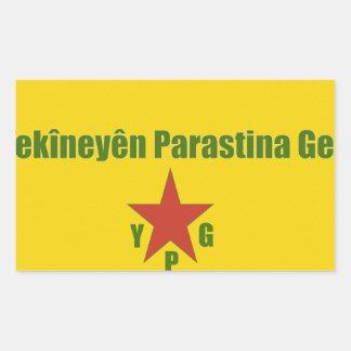 Adesivo Retangular Bandeira v2 de YPG