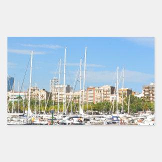 Adesivo Retangular Barcelona