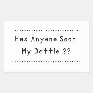 Adesivo Retangular Batalha