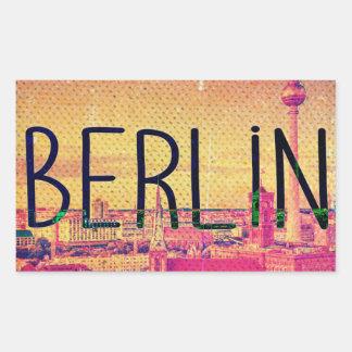 Adesivo Retangular Berlin, circle