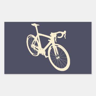 Adesivo Retangular Bicicleta