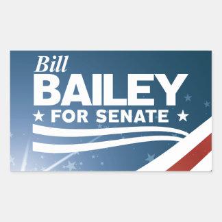 Adesivo Retangular Bill Bailey