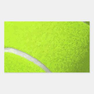 Adesivo Retangular Bola de tênis
