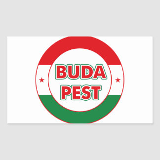 Adesivo Retangular Budapest, circle, color