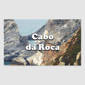 Adesivo Retangular Cabo a Dinamarca Roca: Portugal