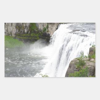 Adesivo Retangular Cachoeiras