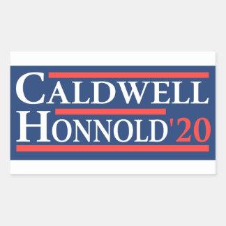 Adesivo Retangular Caldwell Honnold 2020