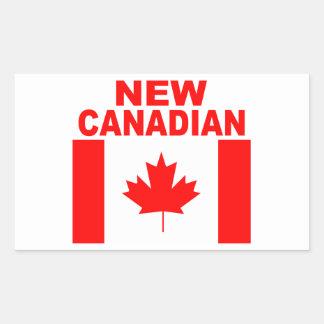 ADESIVO RETANGULAR CANADENSE NOVO