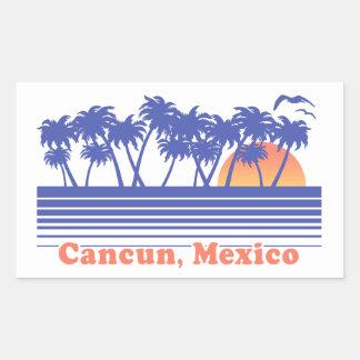 Adesivo Retangular Cancun México