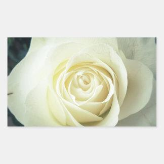 Adesivo Retangular Caneca do rosa branco