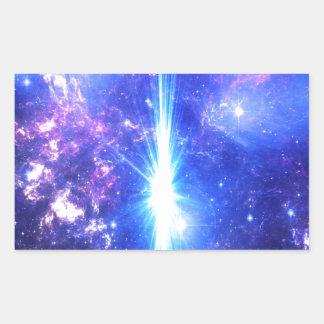 Adesivo Retangular Céus iridescentes