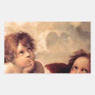 Adesivo Retangular Cherubim - Raphael