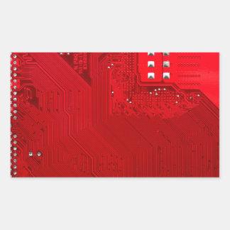 Adesivo Retangular circuito eletrônico vermelho board.JPG