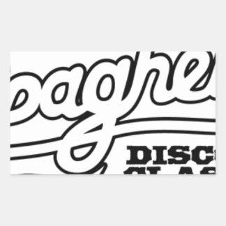 ADESIVO RETANGULAR CLÁSSICOS DO DISCO DOS ESPAGUETES DO DJ MAXXI