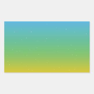 Adesivo Retangular Colorfull