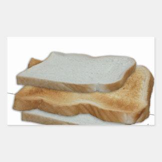 Adesivo Retangular Comida do homem de Tony Fernandes - sanduíche do
