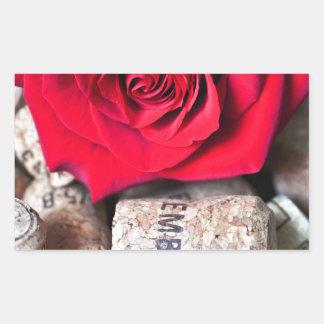 Adesivo Retangular CONVERSAS ROSA with cork