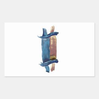Adesivo Retangular Cor de água Torah