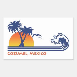 Adesivo Retangular Cozumel México