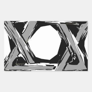 Adesivo Retangular david3