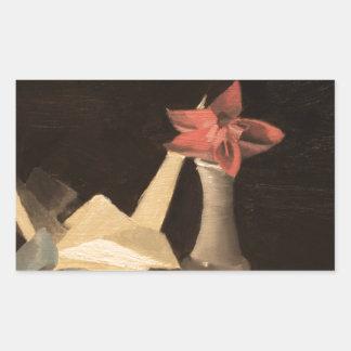 Adesivo Retangular De Origami vida ainda