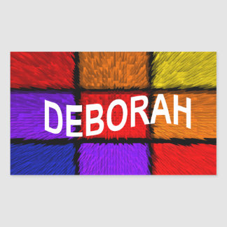 ADESIVO RETANGULAR DEBORAH