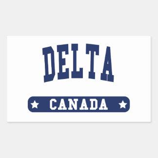 Adesivo Retangular Delta