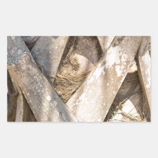 Adesivo Retangular Do abstrato ascendente próximo do detalhe da