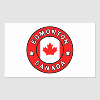 Adesivo Retangular Edmonton Canadá