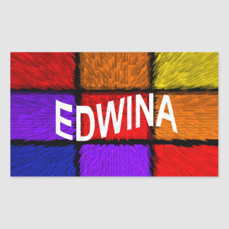 ADESIVO RETANGULAR EDWINA
