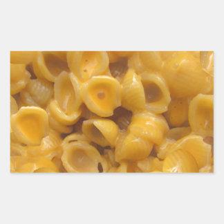 Adesivo Retangular escudos e queijo