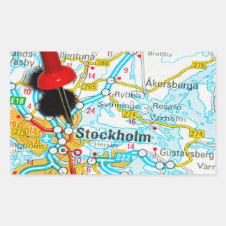 Adesivo Retangular Éstocolmo, suecia