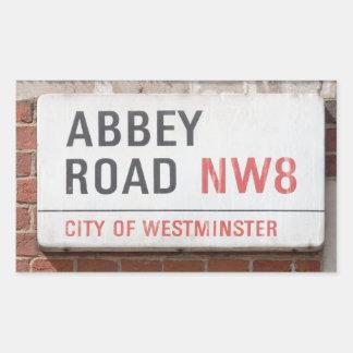 Adesivo Retangular Estrada Londres da abadia