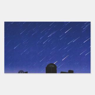 Adesivo Retangular Estrelas da fazenda